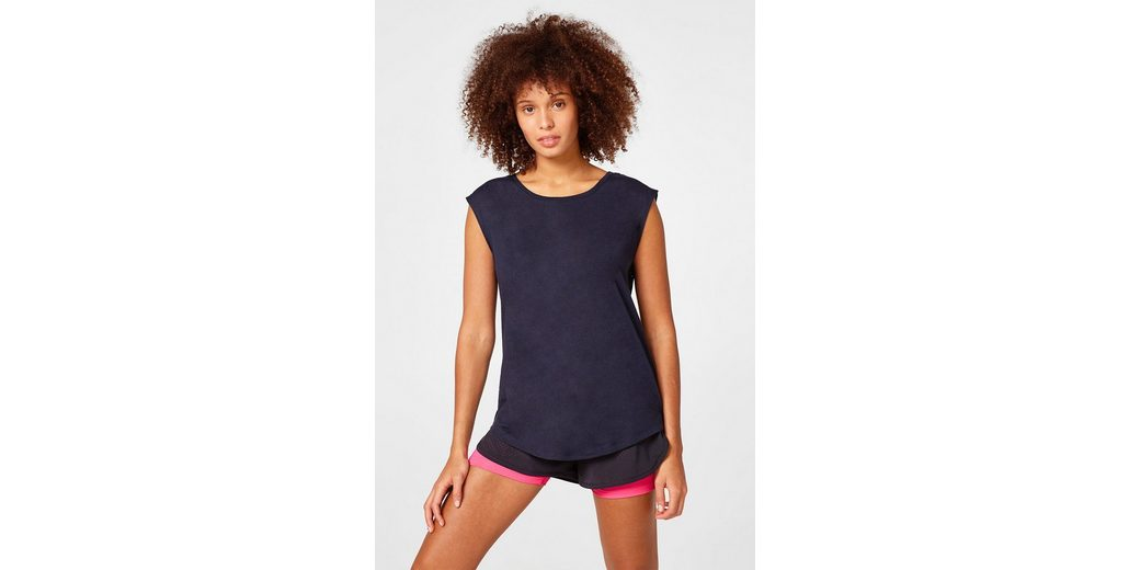 Großer Verkauf Zum Verkauf Countdown Paketverkauf Online ESPRIT Active-Shirt mit Mesh-Details Rabatt Wie Viel 2018 Online-Verkauf gA3Tb