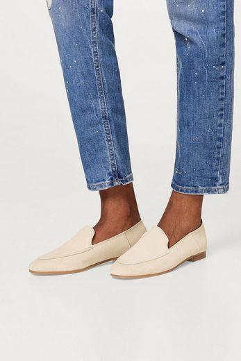 ESPRIT Loafer aus softem Veloursleder