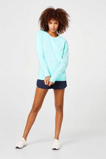 Esprit Lightweight Sweatshirt With Shiny Logo-print