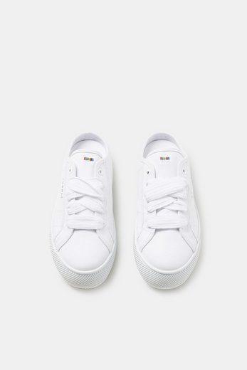 ESPRIT Sneaker-Slipper aus Baumwoll-Canvas