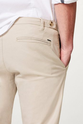 ESPRIT COLLECTION Leicht melierte Twill-Hose mit Stretchkomfort