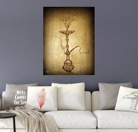 Posterlounge Wandbild - ChiTree Sign »1001 Nights Shisha«