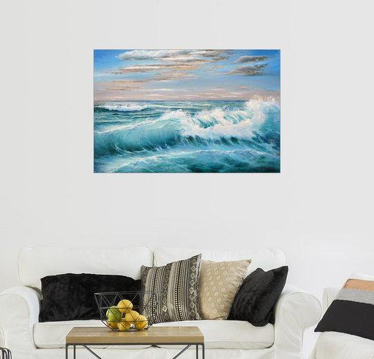 Posterlounge Wandbild - Ludmilla Gittel »Morgenwind«