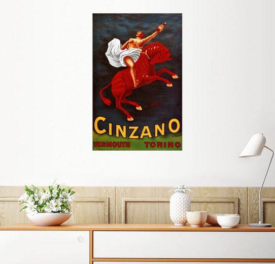 Posterlounge Wandbild - Leonetto Cappiello »Cinzano Vermouth Torino«
