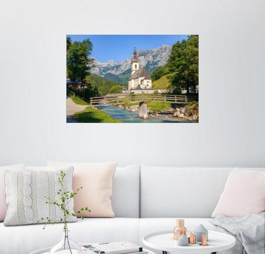 Posterlounge Wandbild - Michael Valjak »Ramsau bei Berchtesgaden«