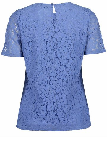 Blue Seven T-Shirt mit Schlitz am Rücken