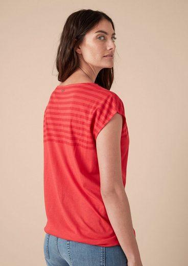 TRIANGLE Lässiges Shirt mit Streifen-Detail