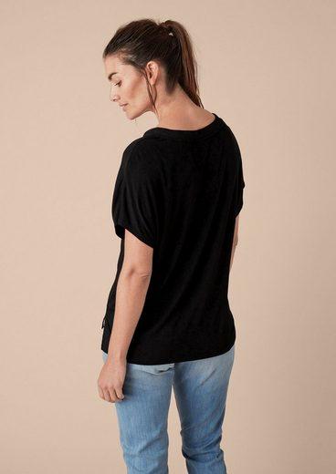 TRIANGLE Shirt mit modischen Akzenten