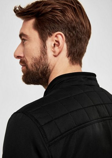 S.oliver Red Label Lightweight Jacket With Quilted-details