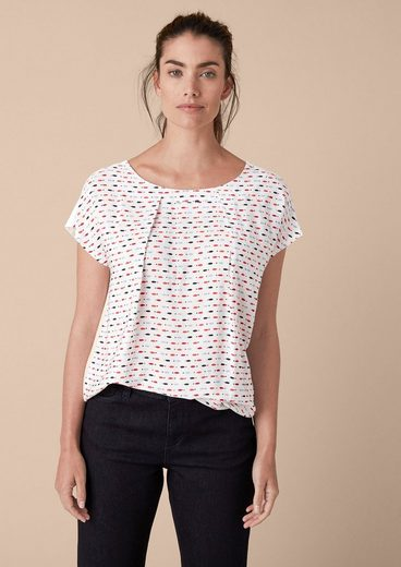 Triangle Jersey Shirt With Pattern
