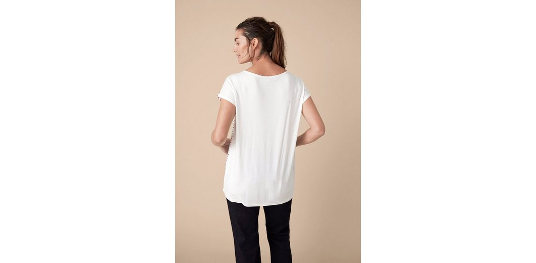 TRIANGLE Jerseyshirt mit Muster Sneakernews Online Verbilligte YyorVx8