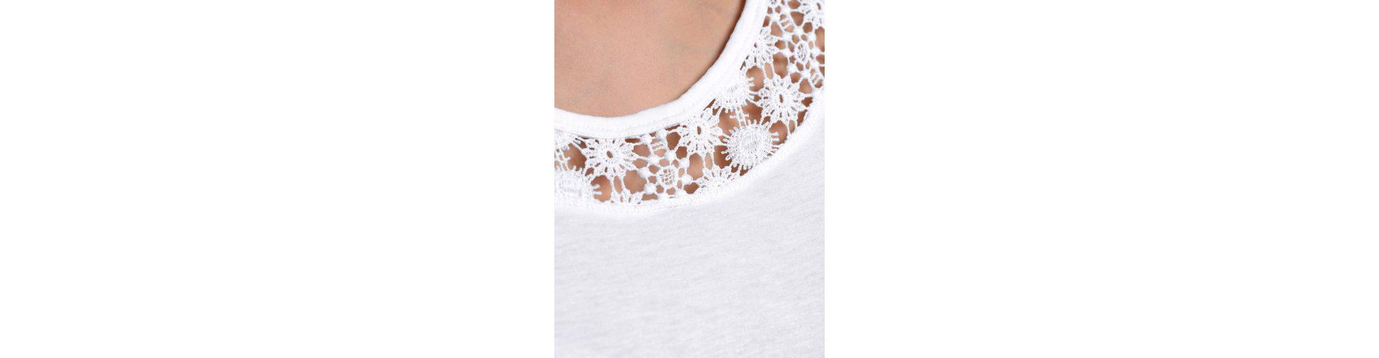 Alba Moda Shirt mit Spitzen-Einsatz Großhandelspreis Zu Verkaufen DTlIb8zA