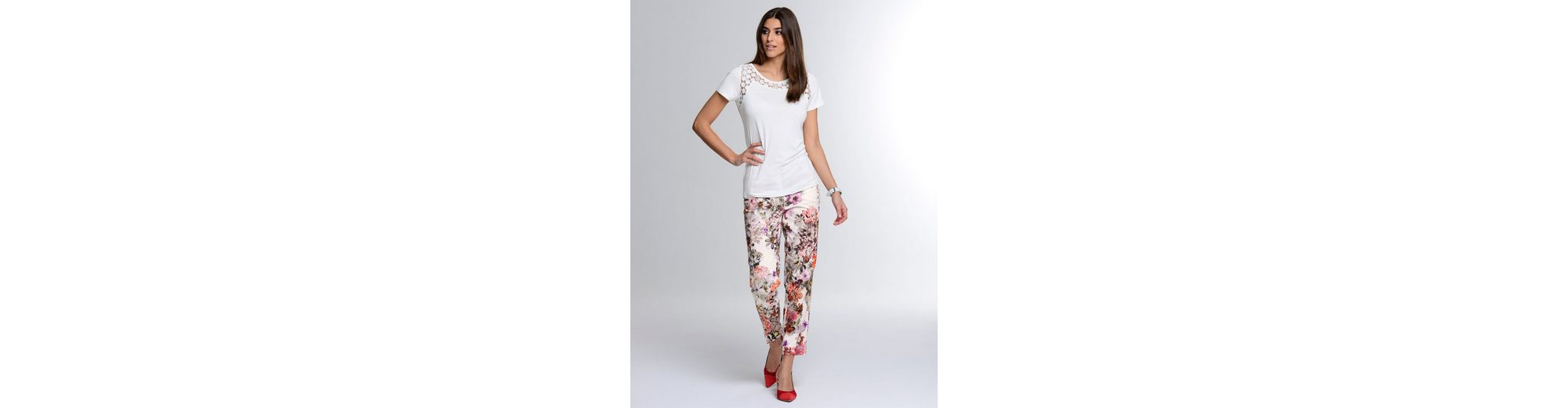 Großhandelspreis Zu Verkaufen Alba Moda Shirt mit Spitzen-Einsatz Zuverlässige Online-Verkauf Günstig Kaufen Preis Billig Verkauf Manchester Neue Online-Verkauf 5SzBQkb8