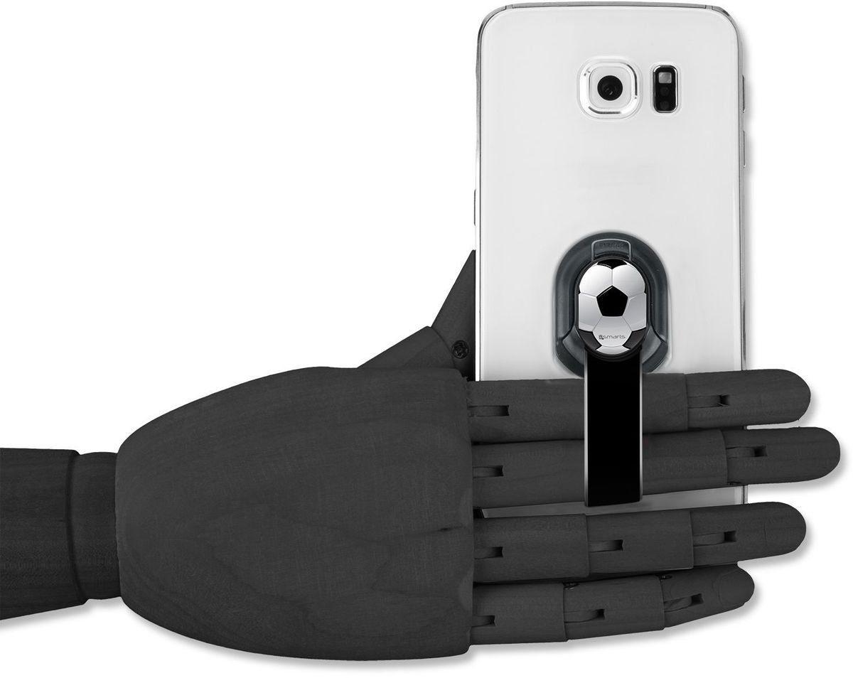 4Smarts Zubehör »Finger Halteschlaufe für Smartphones, Fussball«