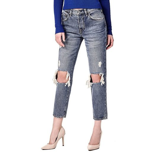 Guess JEANS HOHER BUND RISSE