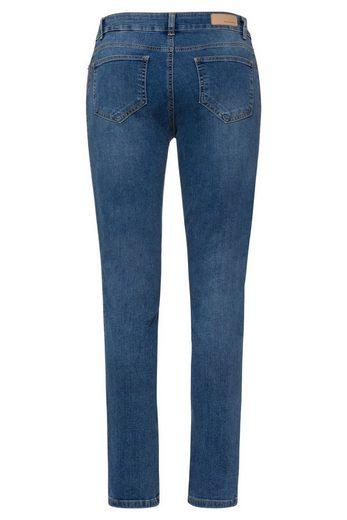 MORE&MORE Jeans mit Seitenstreifen