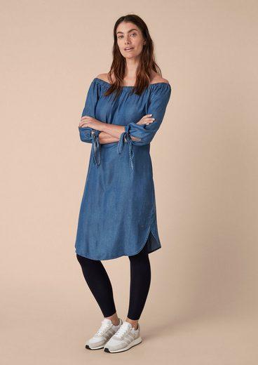 TRIANGLE Luftiges Kleid im Denim-Look