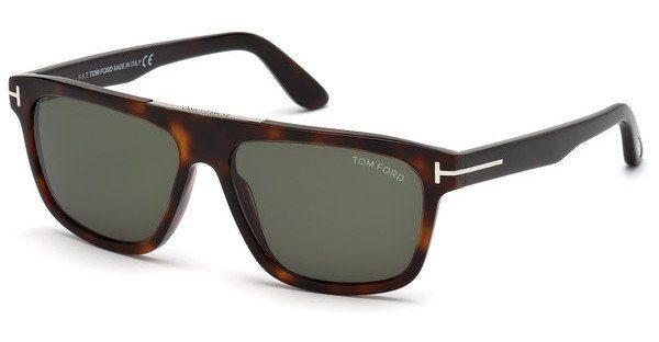 Tom Ford Herren Sonnenbrille » FT0628«, braun, 52N - braun/grün