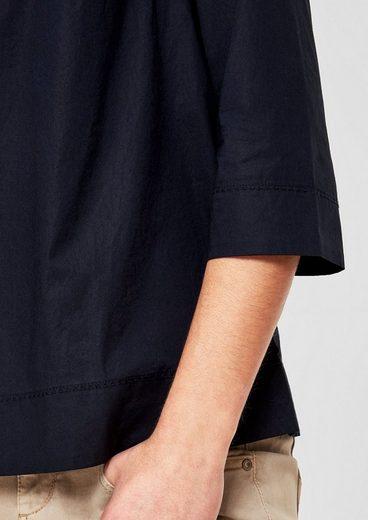 s.Oliver RED LABEL Leichtes Blusenshirt mit Schulterpasse