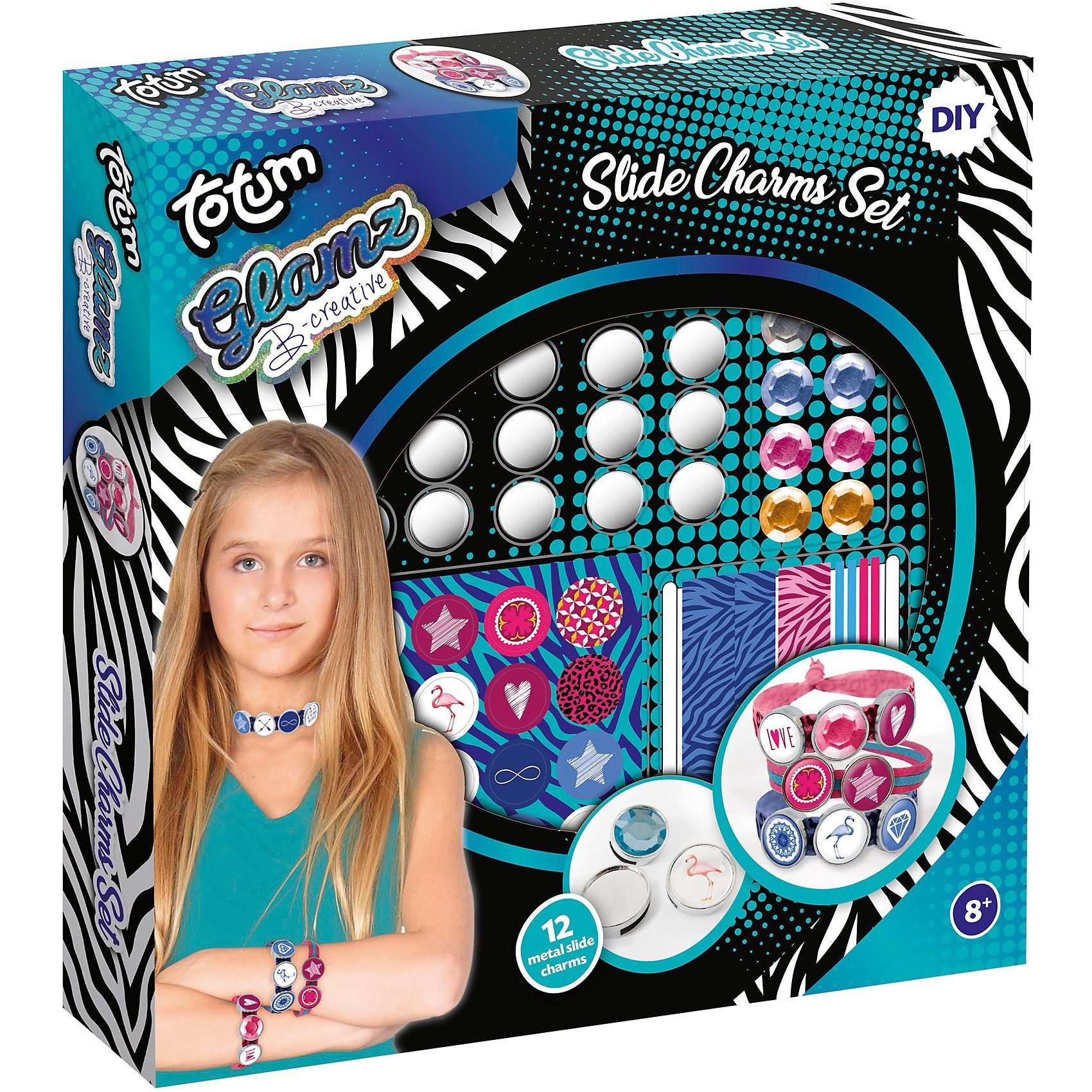 totum Glamz Slide Charms Set