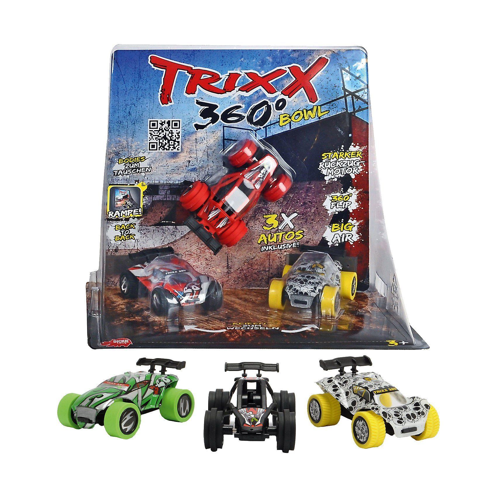 Dickie Toys TRXX05 Trixx 360 - Straight Bowl Ramp