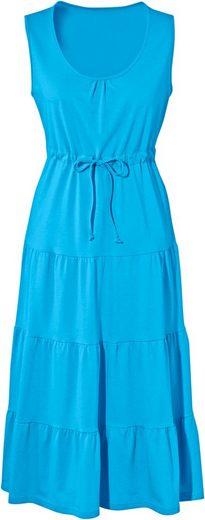 Classic Jersey-Kleid aus reiner Baumwolle