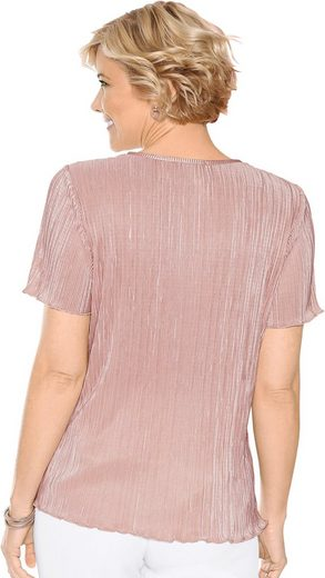 Classic Shirt in leichter Plisseé-Qualität