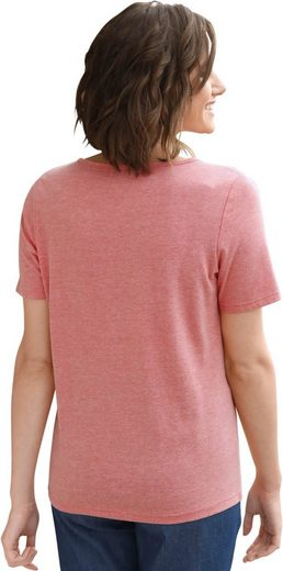 Collection L. Shirt mit Bordüre entlang des Ausschnitts