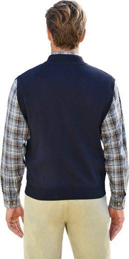 Marco Donati Knit Vest Made Of Pure Cotton