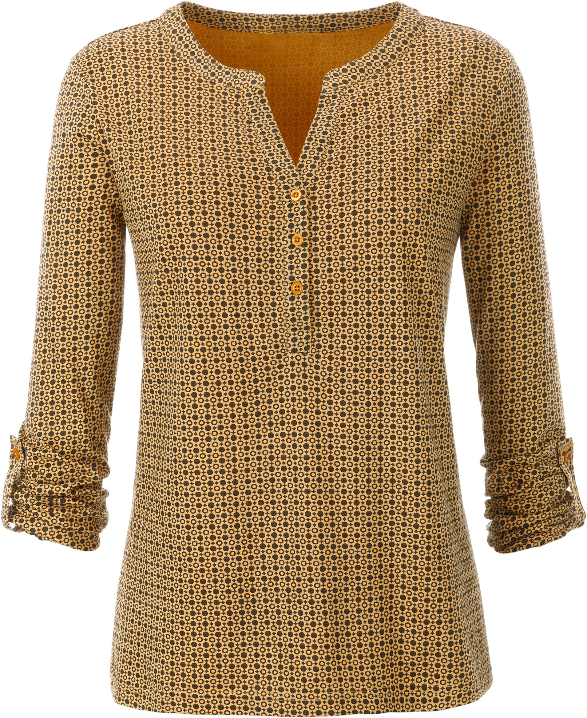 KnopfleisteFigurumschmeichelnde Kaufen Mit Online Kurzer Ambria Shirt Form wymv8ONPn0