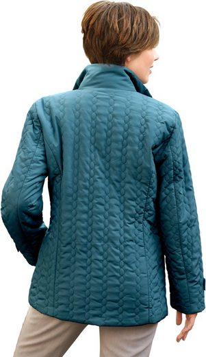 Classic Basics Jacke mit Stehkragen