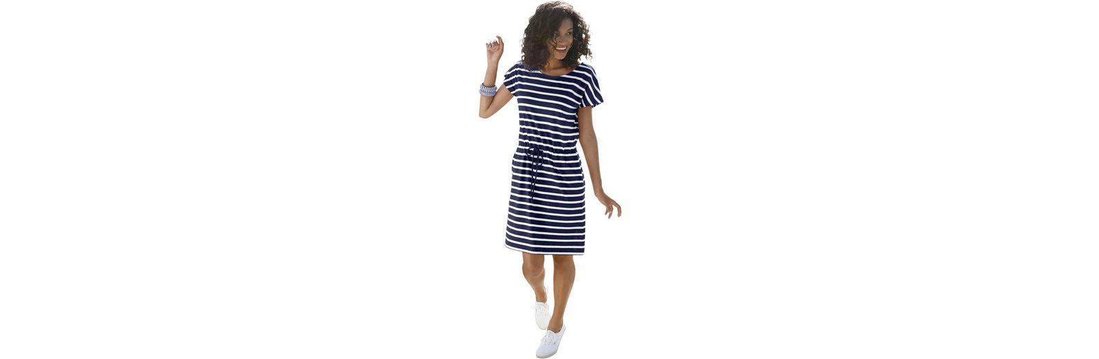 Collection L. Jersey-Kleid in Streifen-Optik Freies Verschiffen Truhe Bilder Billige Bilder Ausgang Erhalten Authentisch Freiheit 100% Garantiert En7p4