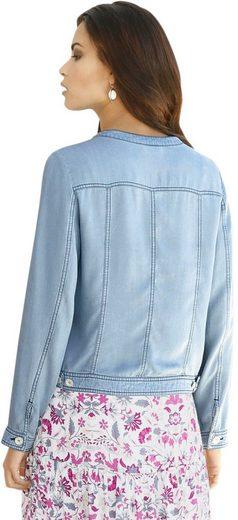 Inspirationen Classique Blazer En Jeans-optik
