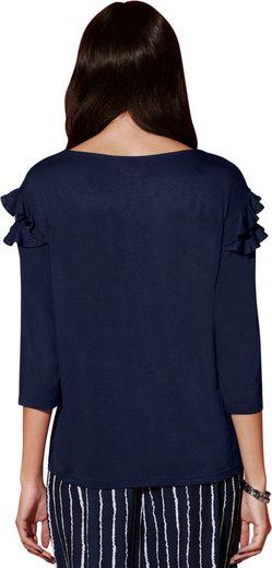 Création L Shirt mit 3/4-Ärmel