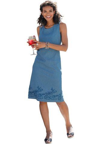 CLASSIC BASICS Suknelė su gėlių apvadas