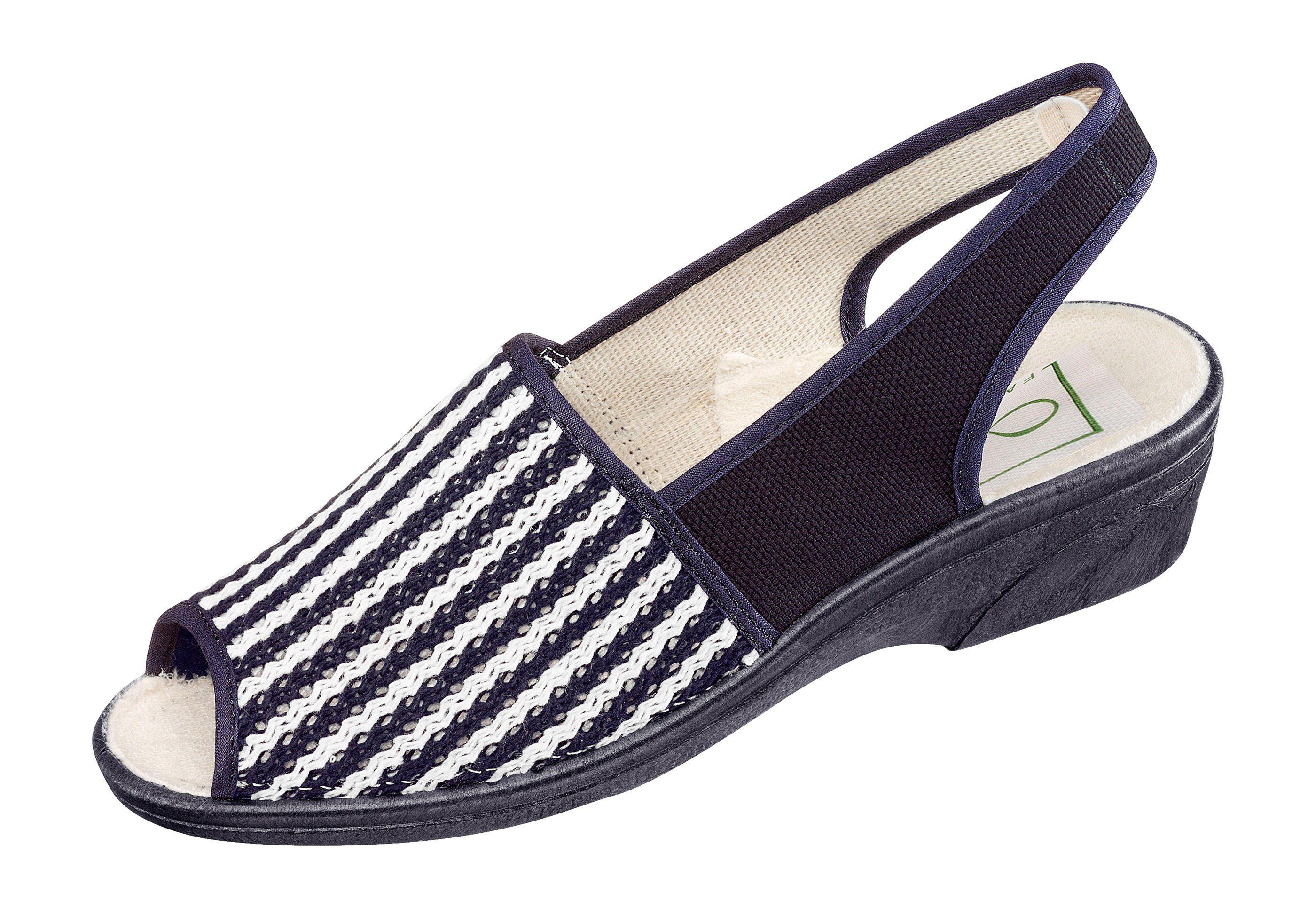 Classic Sandalette mit flexibler Synthetik-Laufsohle online kaufen  marine