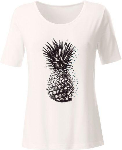 Ambria Shirt mit Ananas-Print