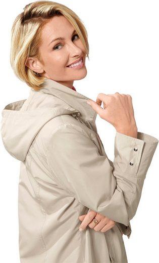 Classic Basics Jacke mit abzippbarer Kapuze