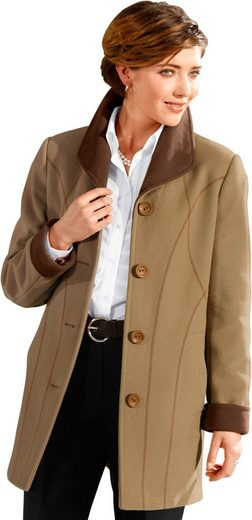 Classic Wool Jacket With Collar Spades