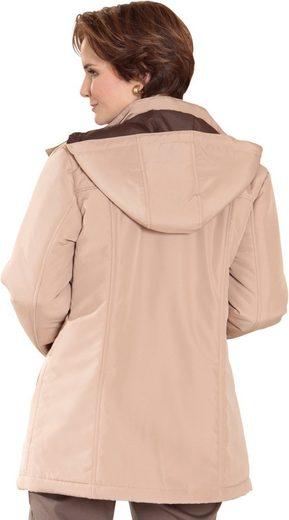 Classic Basics Jacke mit abnehmbarer Kapuze