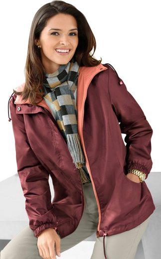 Classic Basics Jacke mit praktischer Kapuze