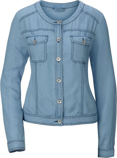 Classic Inspirationen Blazer In Jeans-optik