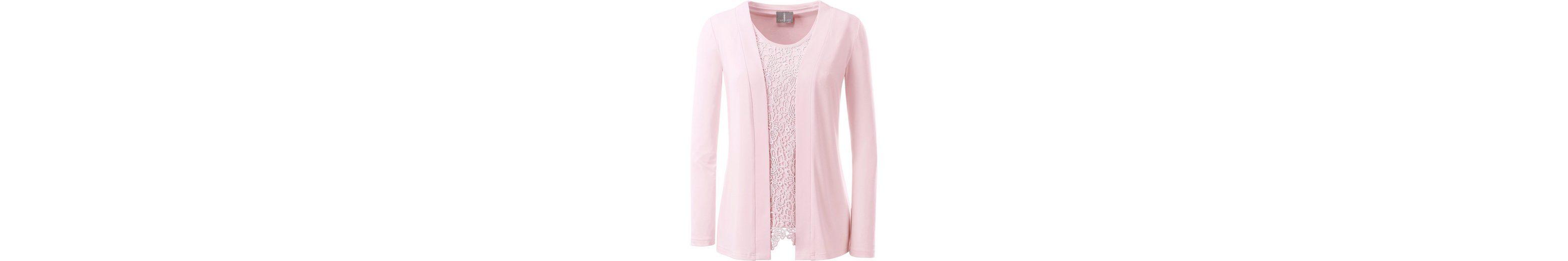 Lady Shirtjacke mit breiter Blende  Wie Viel Mit Paypal Online-Shopping-Spielraum 100% Original Billig Verkauf 100% Original 9Mbo0oA