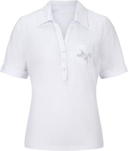 Classic Poloshirt mit farblich abgestimmten Knöpfen