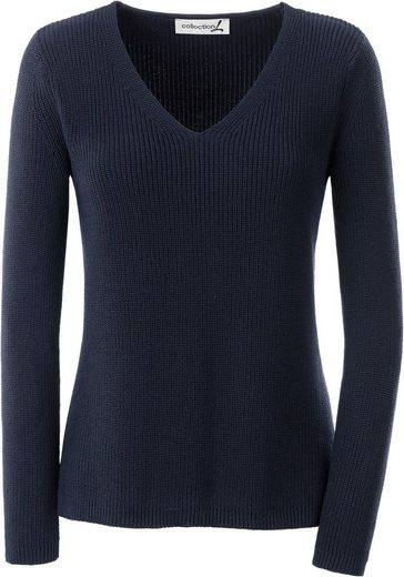 Collection L. Pullover In Discreet Ripp-optics
