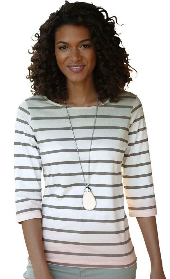 Damen Collection L. Shirt im effektvollen Farbverlauf braun | 05206920018698
