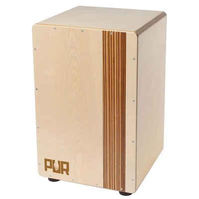 Pur-Percussion Cajon »PUR PC2259 Compact QS Zebrano Cajon«