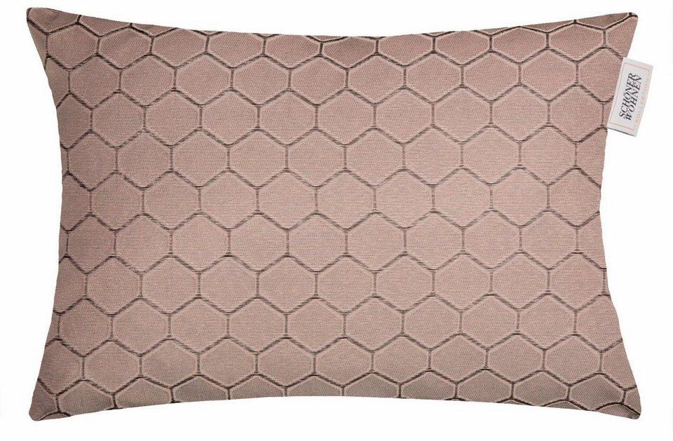 kissenh lle sch ner wohnen kollektion honeycomb 1 st ck online kaufen otto. Black Bedroom Furniture Sets. Home Design Ideas
