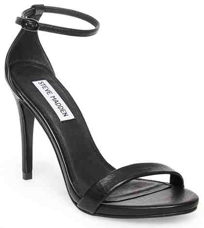 STEVE MADDEN »Stecy Natural« High-Heel-Sandalette mit zarten Riemchen