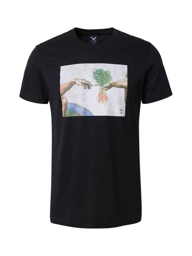 iriedaily T-Shirt »Holy Carrots« (1-tlg)